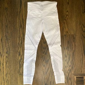 ALO White High waisted Leggings